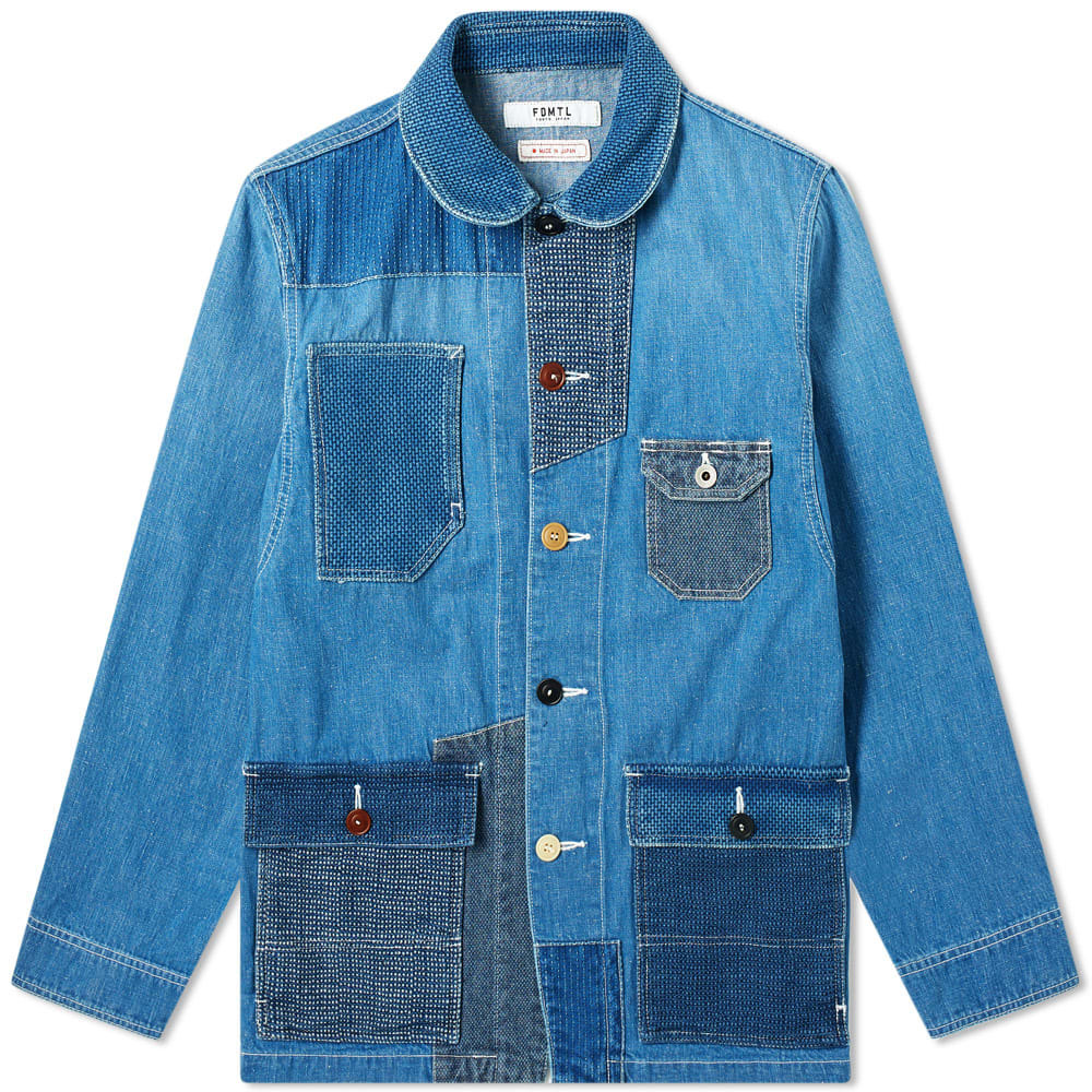 Photo: FDMTL Patchwork Coverall Jacket Two Year Wash