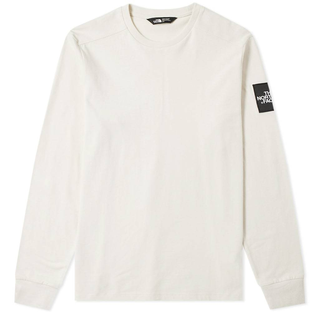 Photo: The North Face Long Sleeve Fine 2 Tee Vintage White