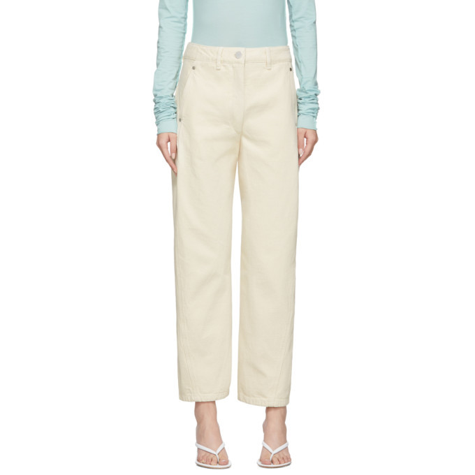 Photo: Lemaire Off-White Twisted Jeans