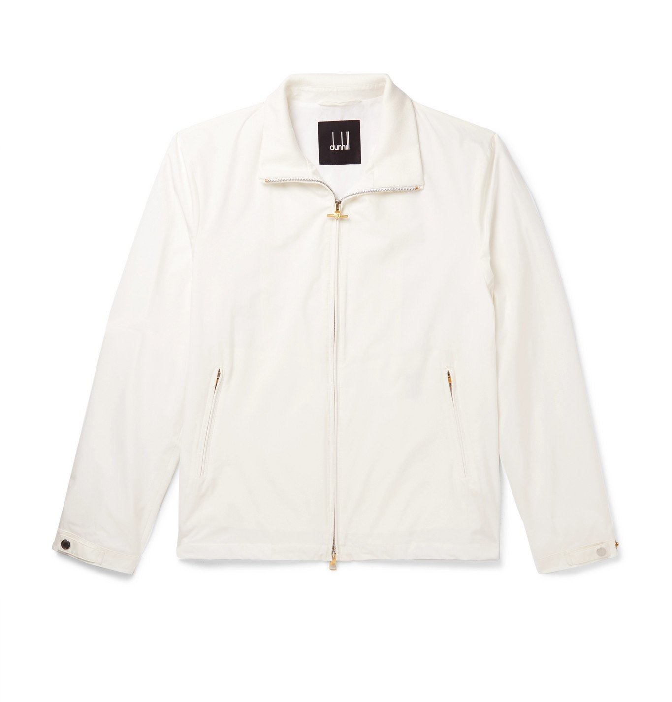 Photo: Dunhill - Silk Bomber Jacket - White
