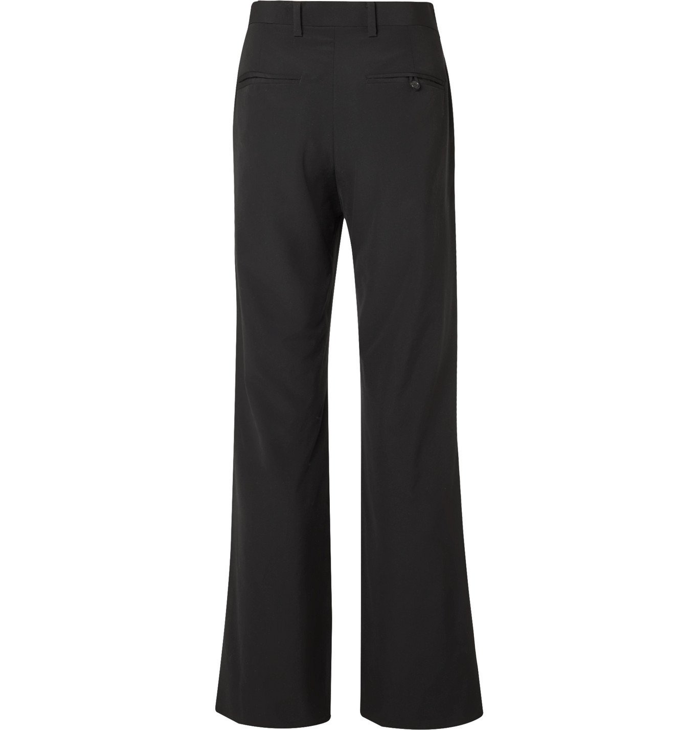 Undercover - Patchwork Wool and Silk-Blend Trousers - Black