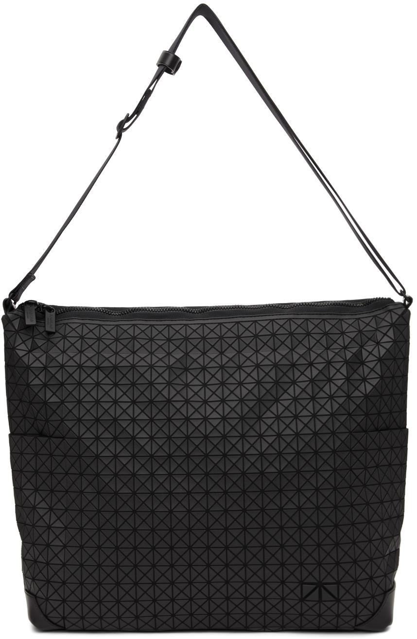 Photo: Bao Bao Issey Miyake Black Matte Curve Messenger Bag