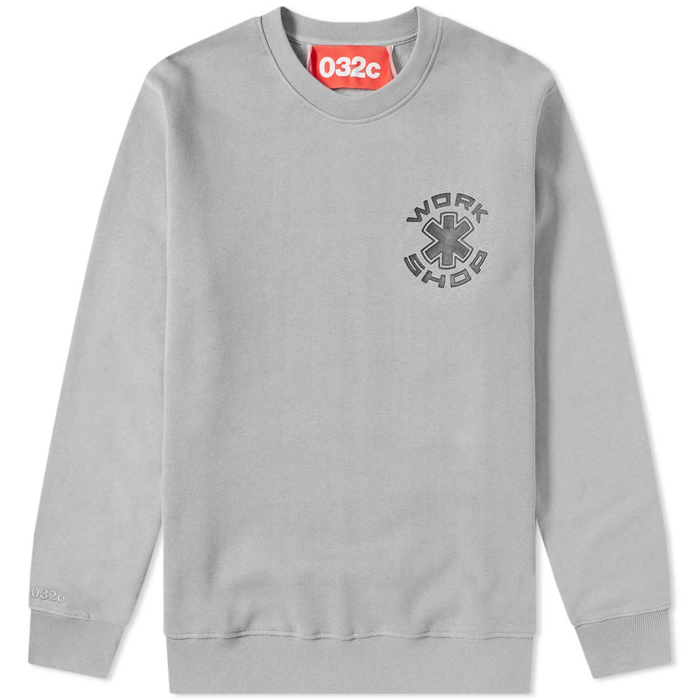Photo: 032c Workshop Print Crew Sweat Grey