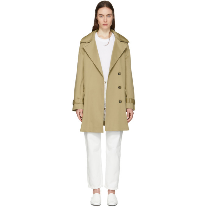 Photo: Won Hundred Tan Morgana Short Trench Coat