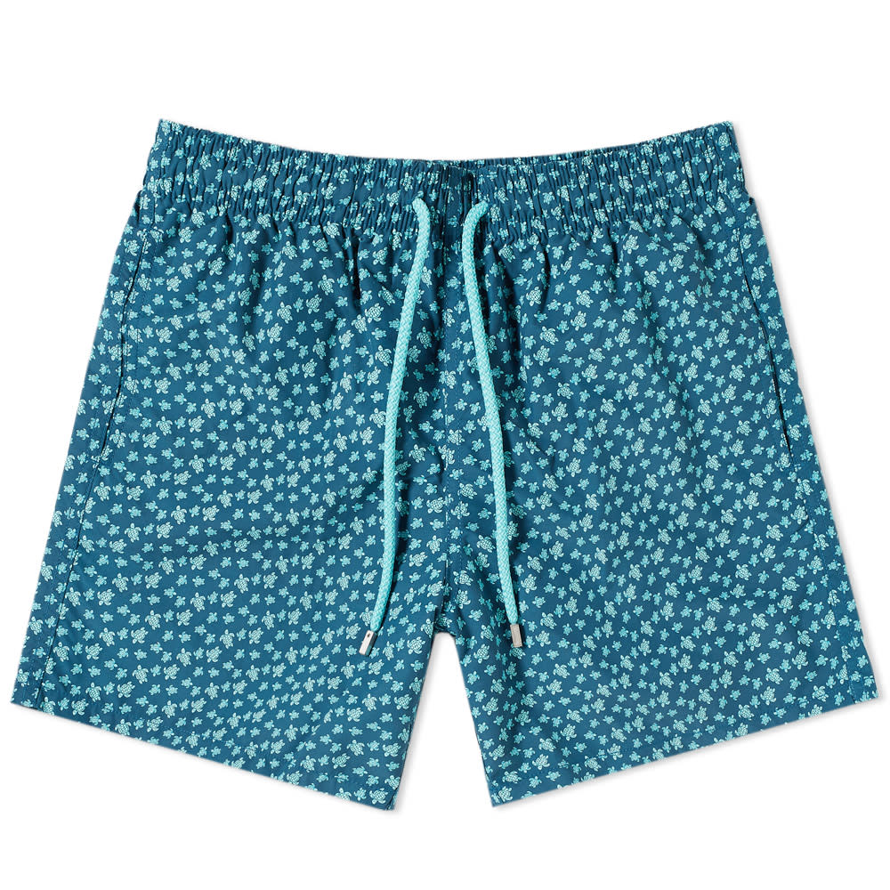 Photo: Vilebrequin Moorea Micro Turtle Print Swim Short