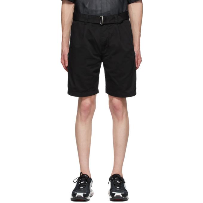 Photo: Undercover Black Zipper Shorts