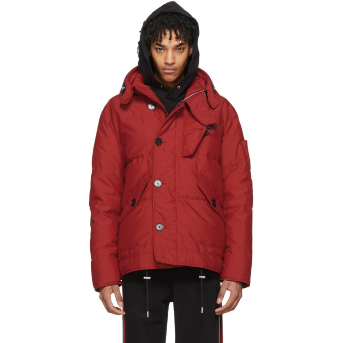 Photo: Givenchy Red Puffer Down Jacket