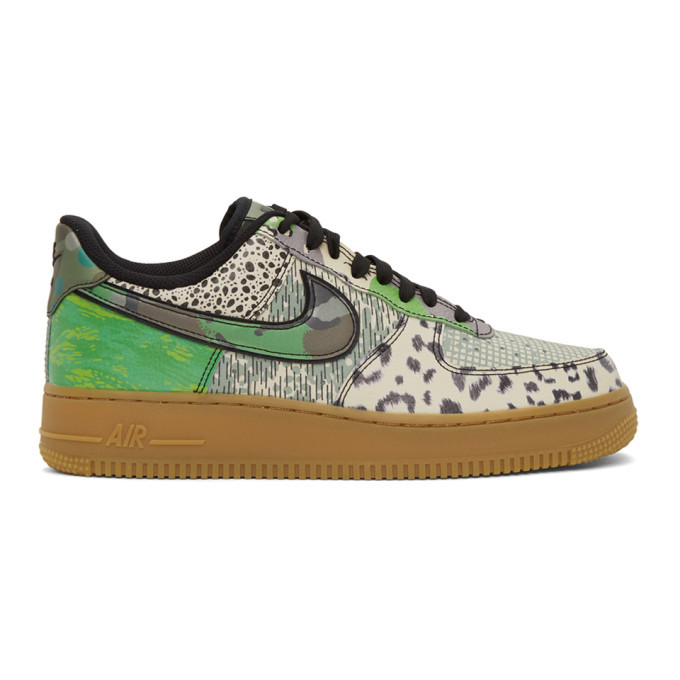Photo: Nike Multicolor City Of Dreams Air Force 1 07 QS Sneakers