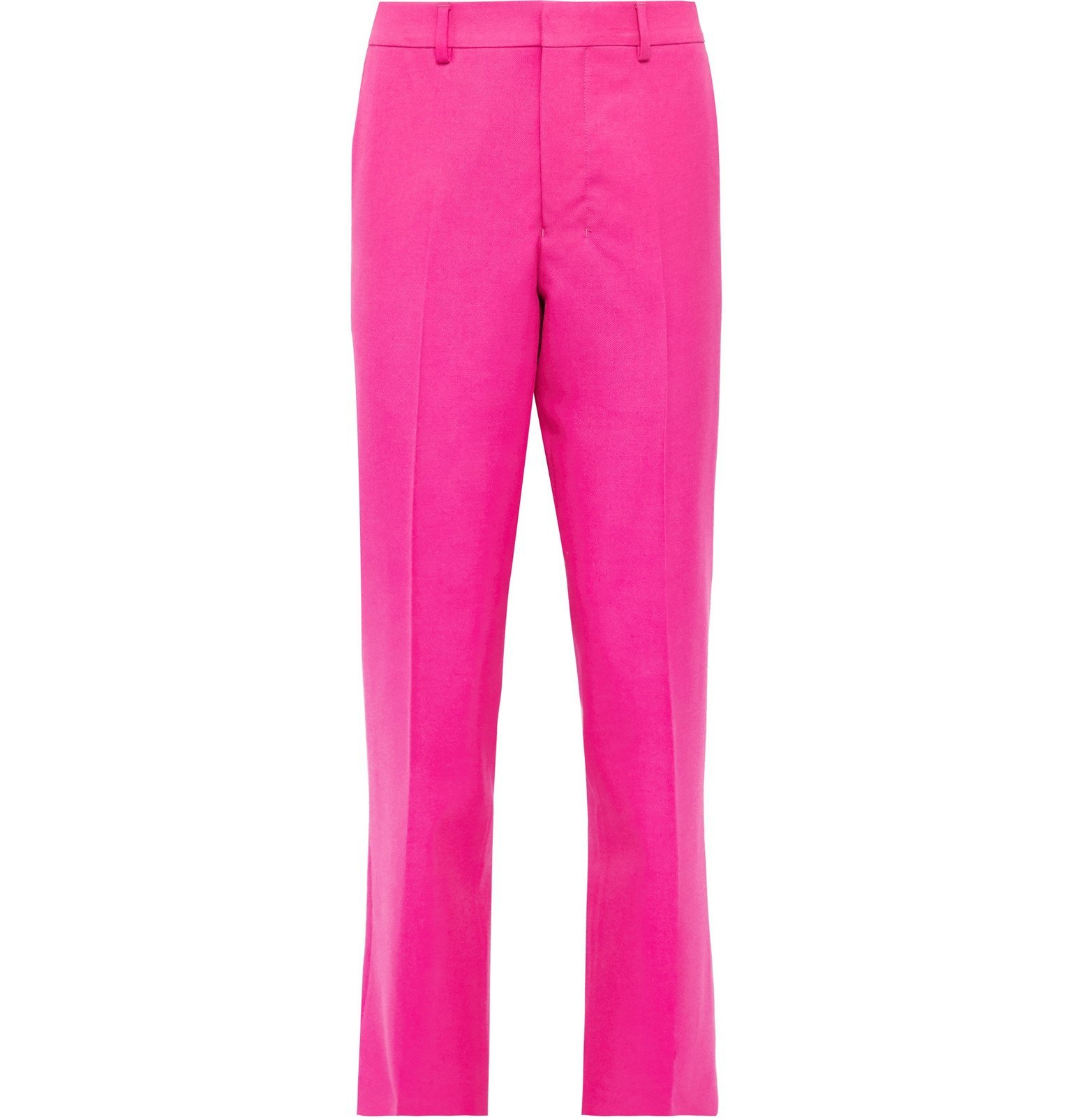 Photo: AMI - Wool-Twill Trousers - Pink