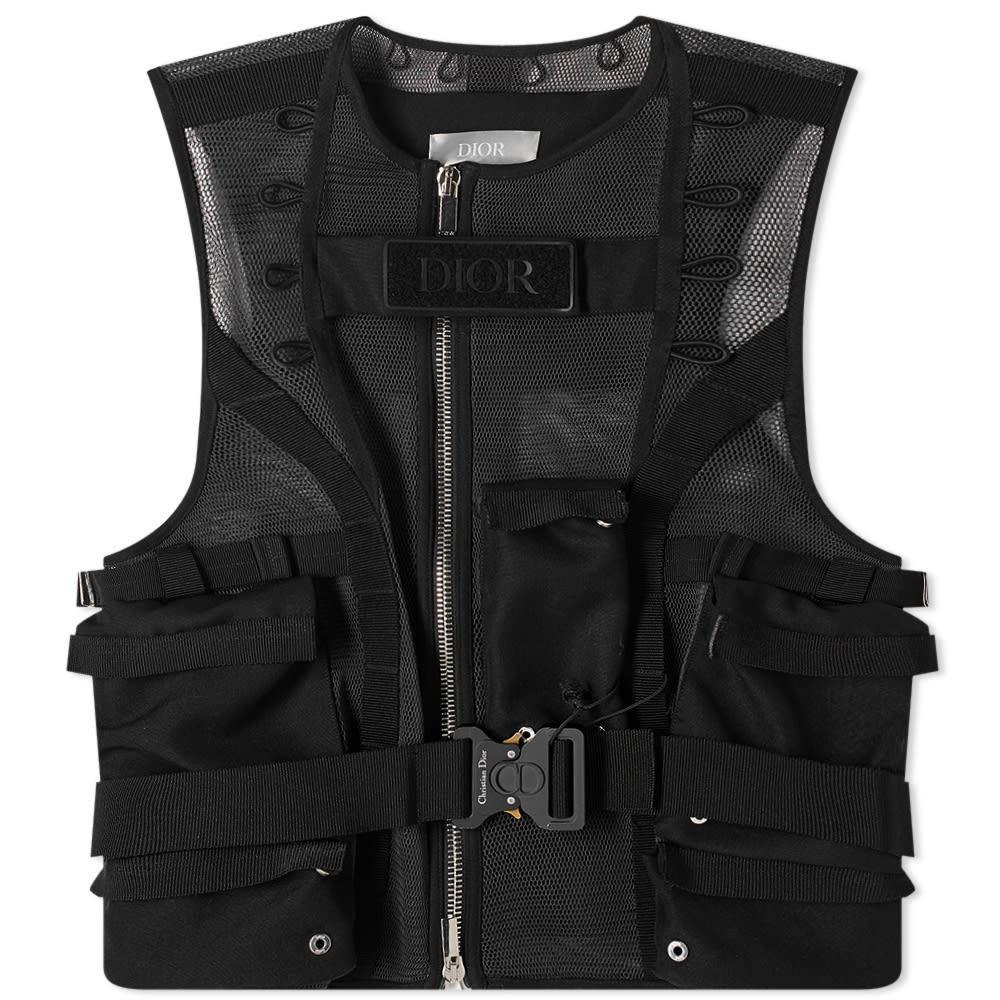 Photo: Dior Logo Tactical Vest