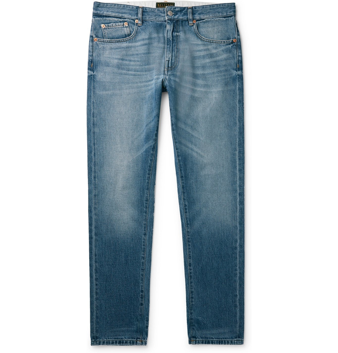 Photo: BELSTAFF - Longton Slim-Fit Denim Jeans - Blue