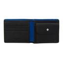 Giorgio Armani Black Leather Pebbled Wallet