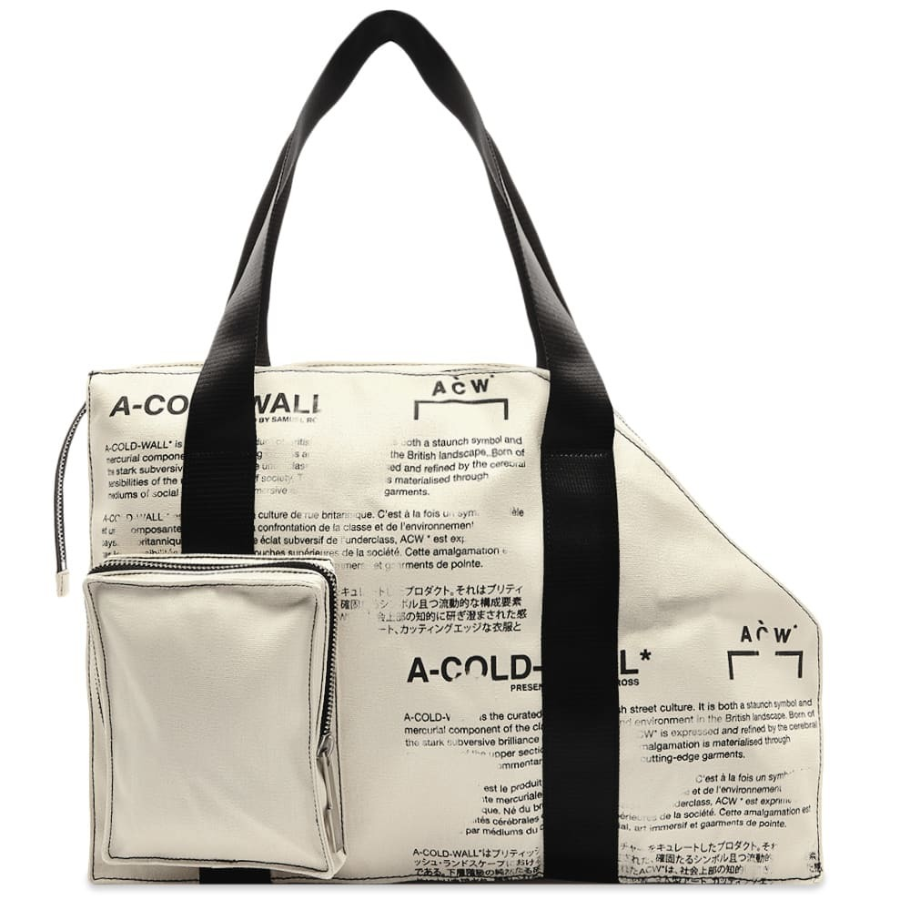 Photo: A-COLD-WALL* V2 Tote Bag