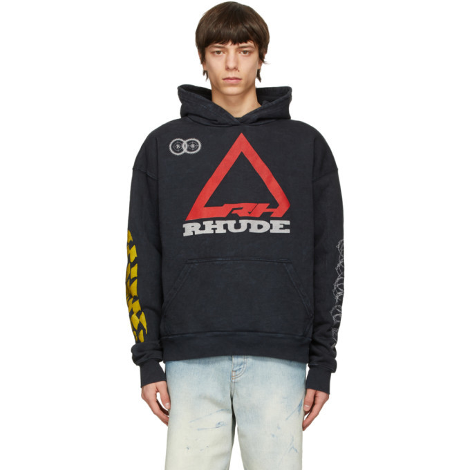 Photo: Rhude Black Rhonda 2 Decal Hoodie