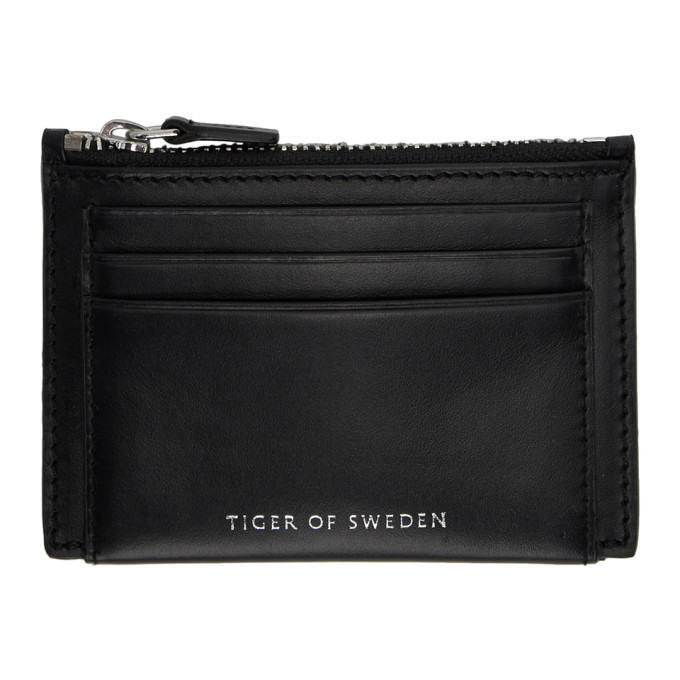 Photo: Tiger of Sweden Black Wede Card Holder