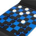 Smythson - Panama Cross-Grain Leather Checkers Set - Multi
