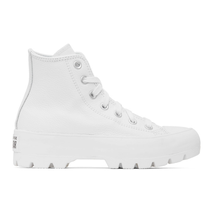 Photo: Converse White Chuck Lugged High Sneakers