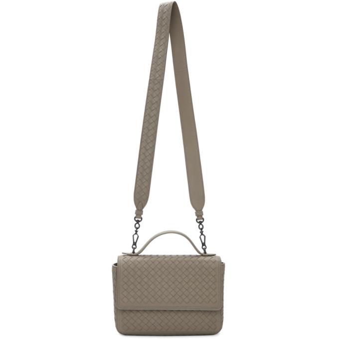 Photo: Bottega Veneta Tan Intrecciato Messenger Bag