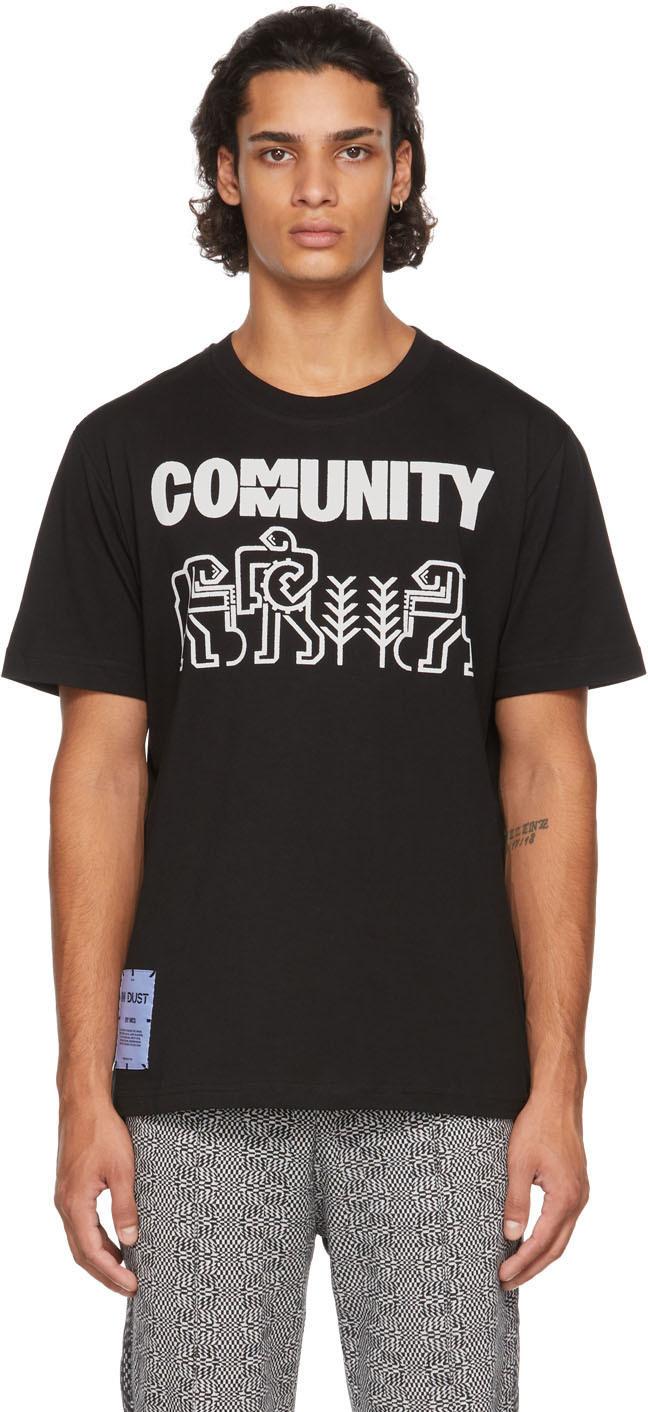 Photo: MCQ Black 'Community' Workers T-Shirt