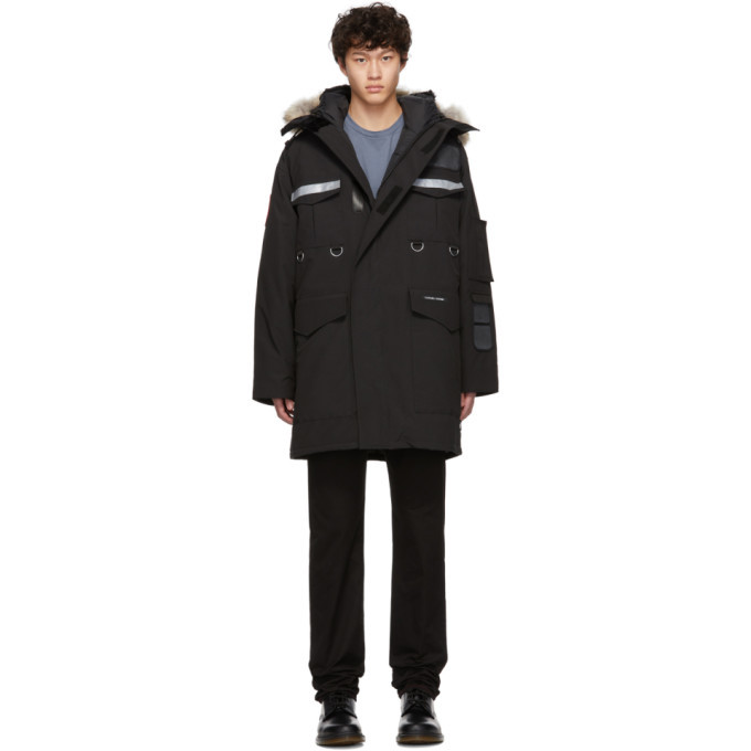 Photo: Canada Goose Black Down Resolute Parka
