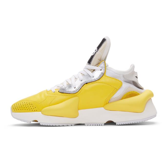 Y-3 Yellow Kaiwa Sneakers