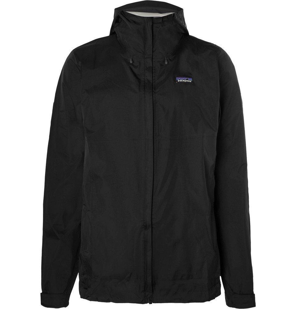 Photo: Patagonia - Torrentshell Waterproof H2No Performance Standard Ripstop Hooded Jacket - Black