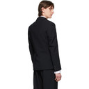 Raf Simons Black Wool Slim-Fit Blazer