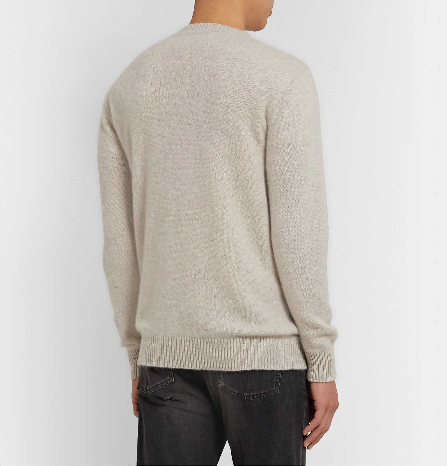 The Elder Statesman - Cashmere Sweater - Neutrals