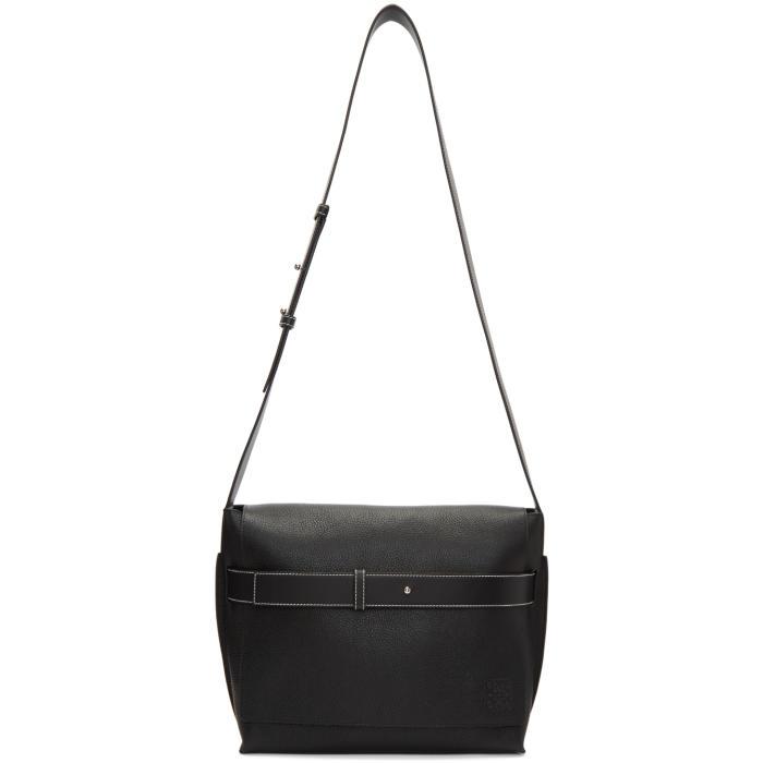 Photo: Loewe Black Small Bolso Belt Messenger Bag