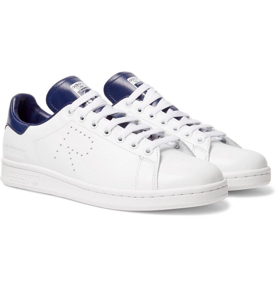 Raf Simons - adidas Originals Stan Smith Leather Sneakers - Men - White