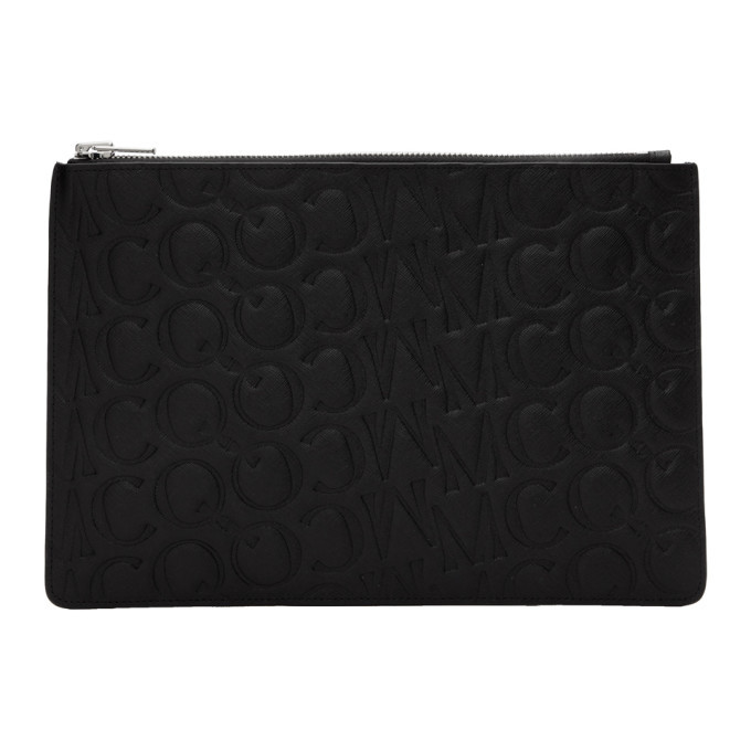 Photo: McQ Alexander McQueen Black Logo Tablet Pouch