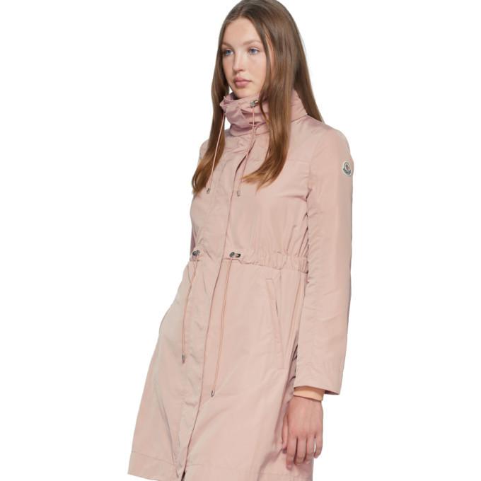 Moncler Pink Malachite Coat