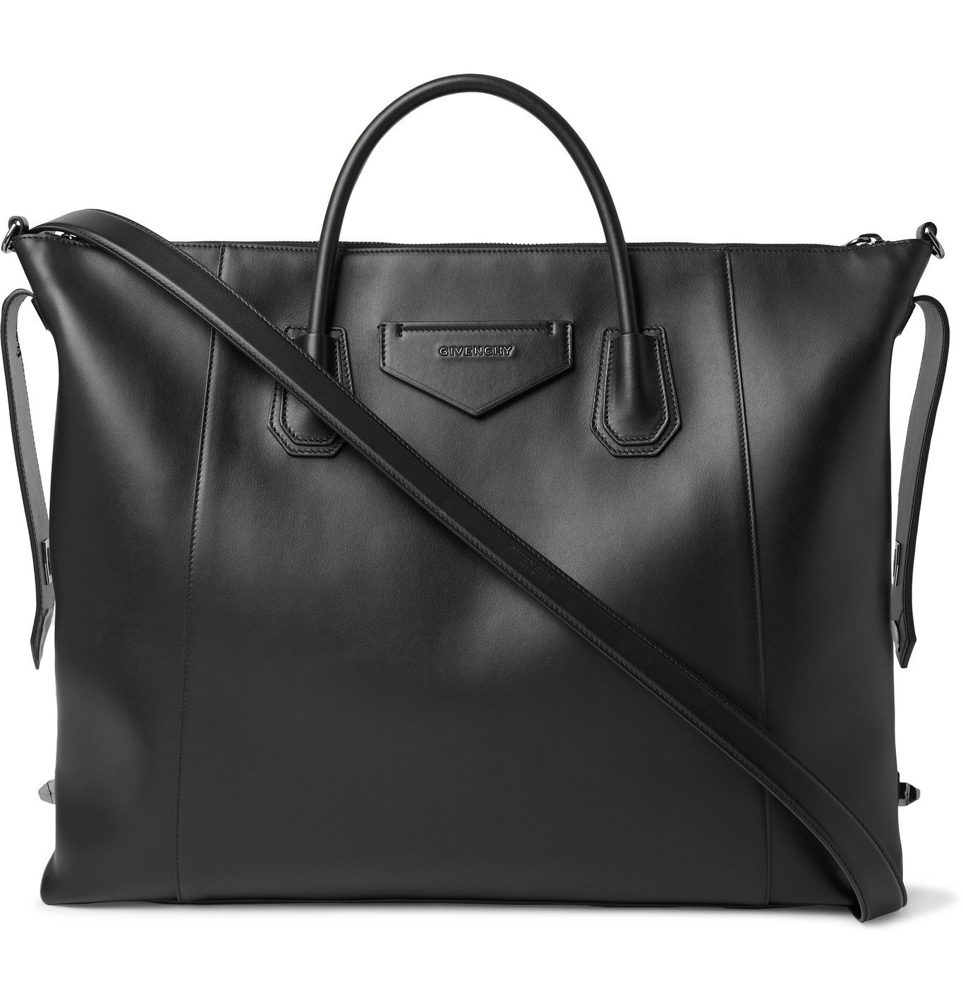 Photo: Givenchy - Leather Tote Bag - Black