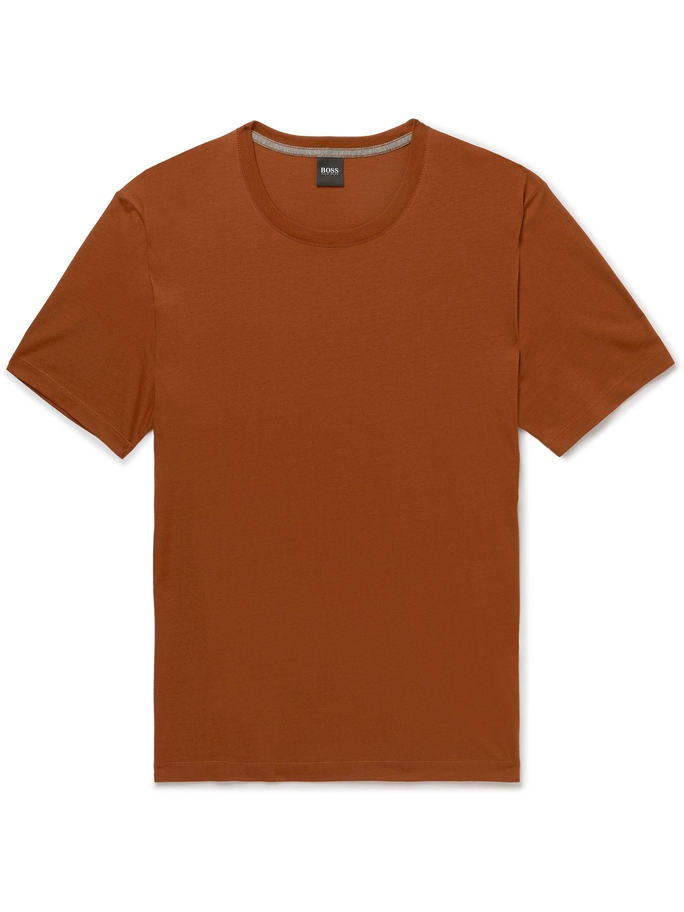 HUGO BOSS - Slim-Fit Cotton-Jersey T-Shirt - Unknown