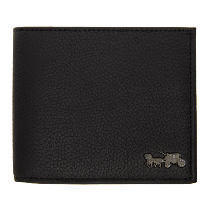Photo: Coach 1941 Black Double Billfold Wallet