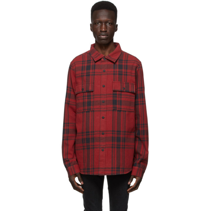 Ksubi Red Paradox Shirt
