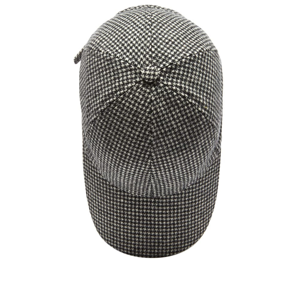 Officine Generale Italian Houndstooth Wool Cap