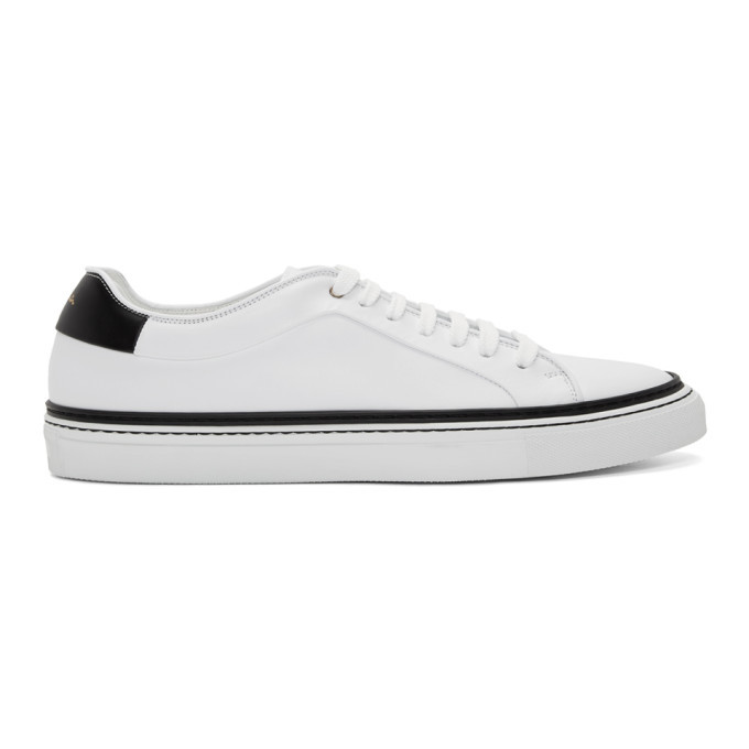 Photo: Paul Smith White and Black Basso Sneakers