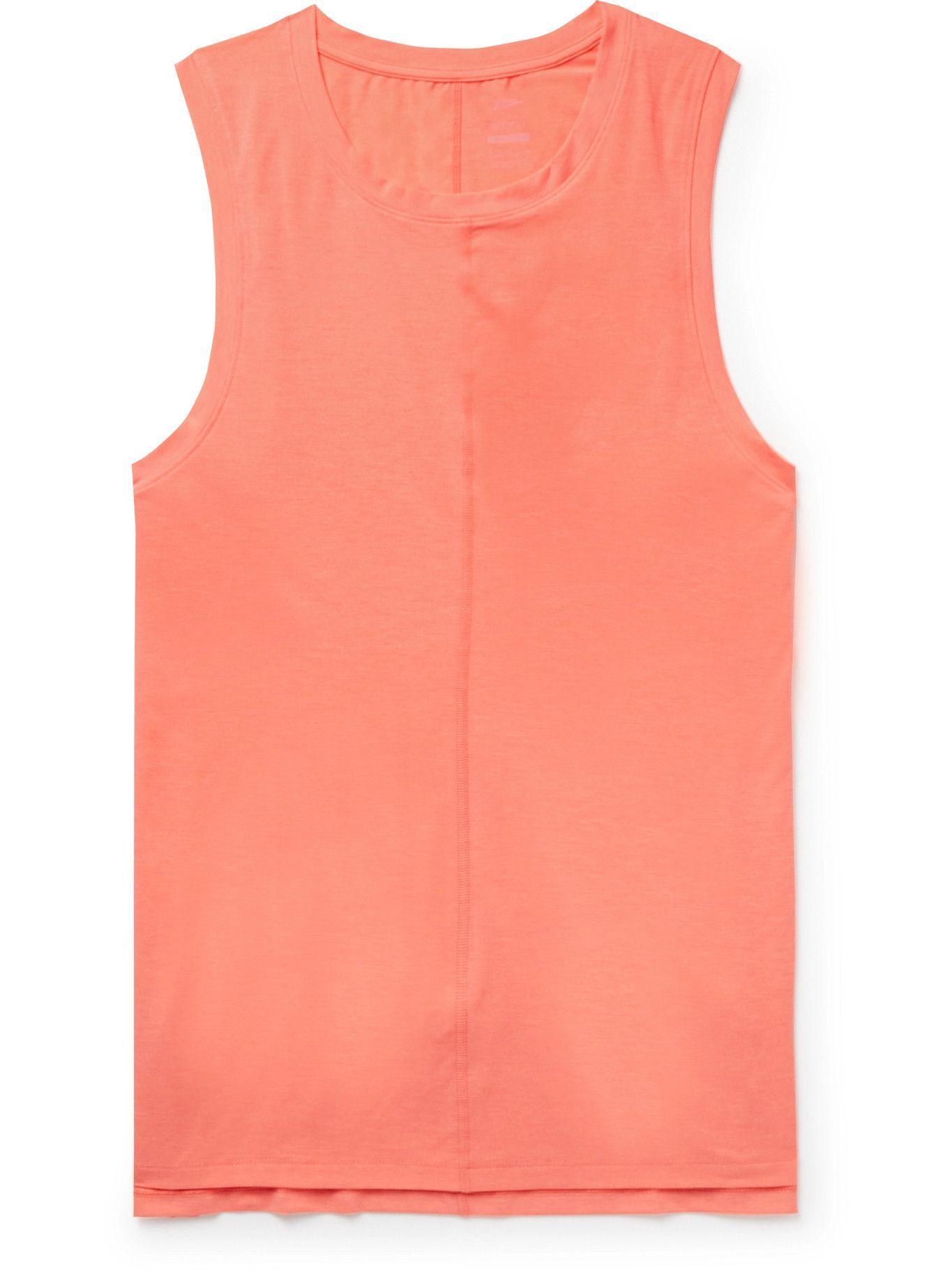 Photo: Nike Training - Dri-FIT Yoga Tank Top - Orange