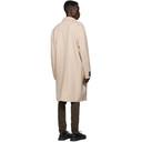 Ksubi Beige Wool Mogul Coat