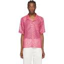 GmbH Pink Luka Bowling Shirt