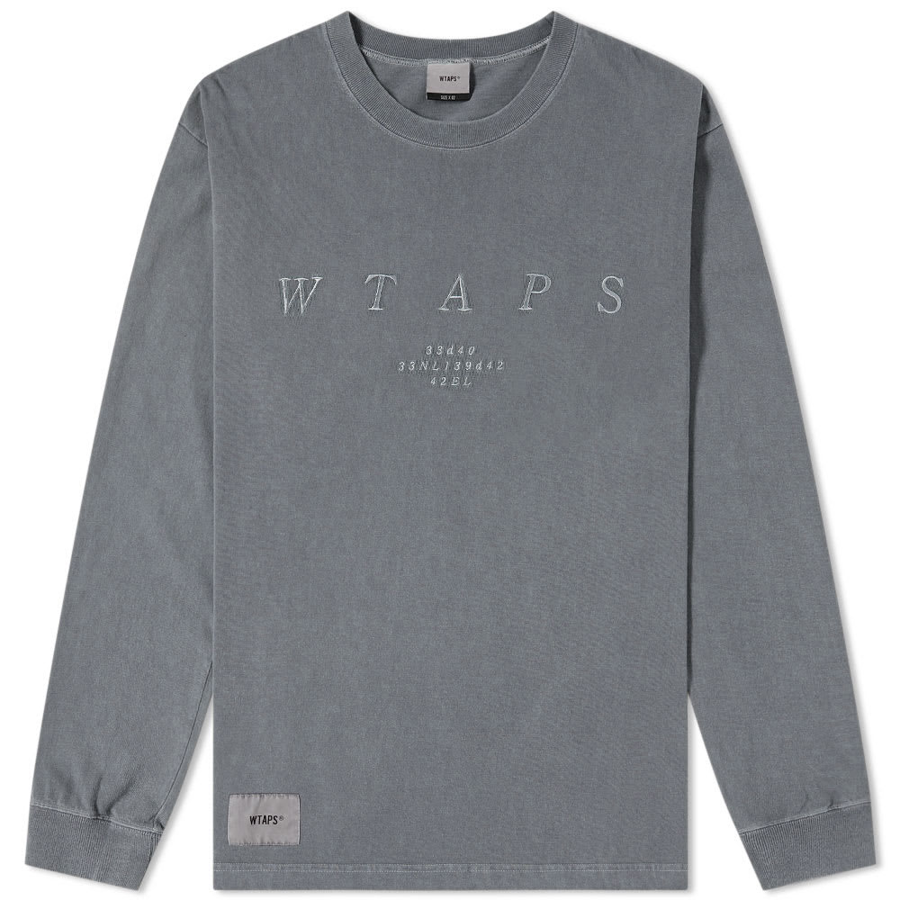 Photo: WTAPS Long Sleeve Design System Tee