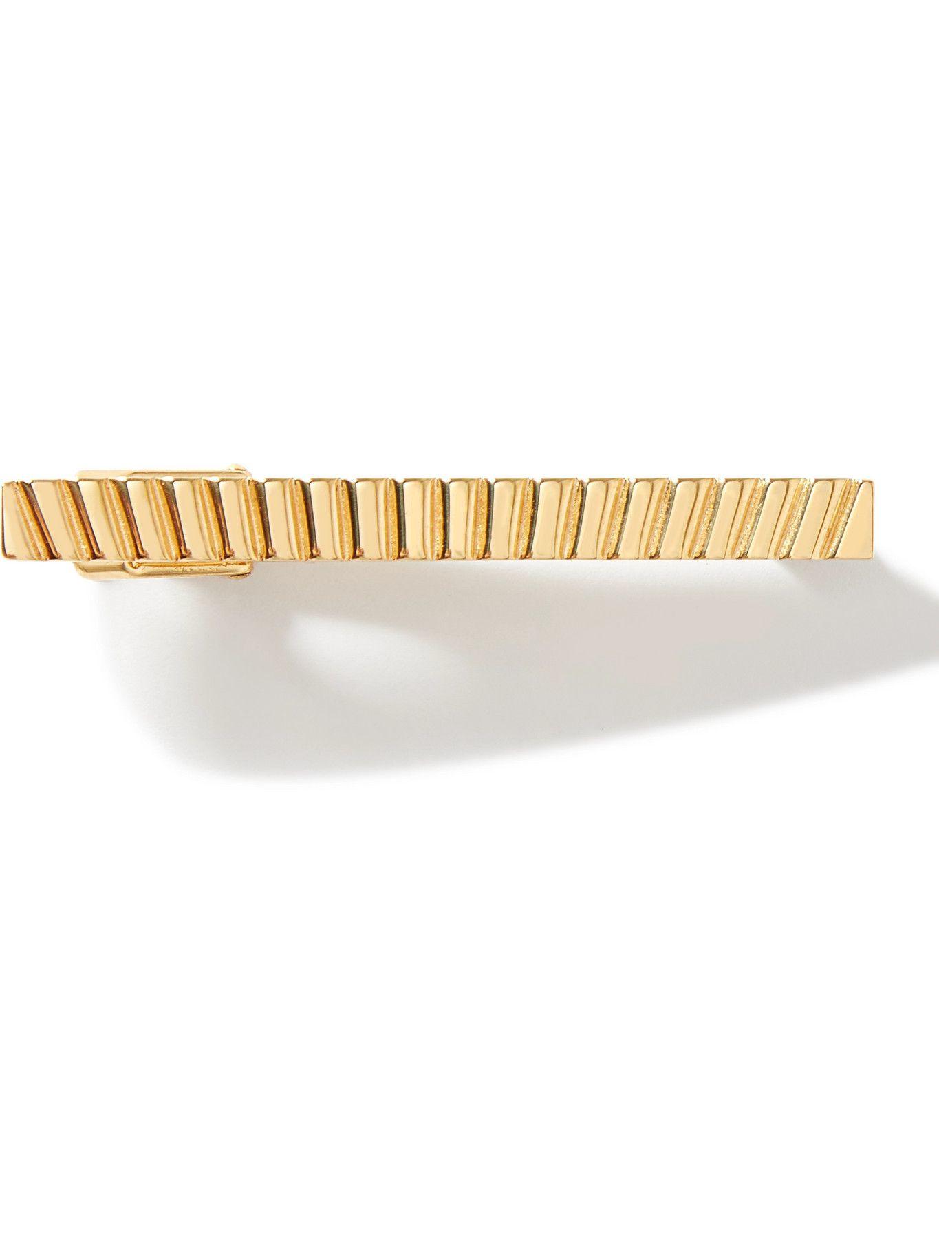 Photo: LANVIN - Gold-Plated Tie Clip