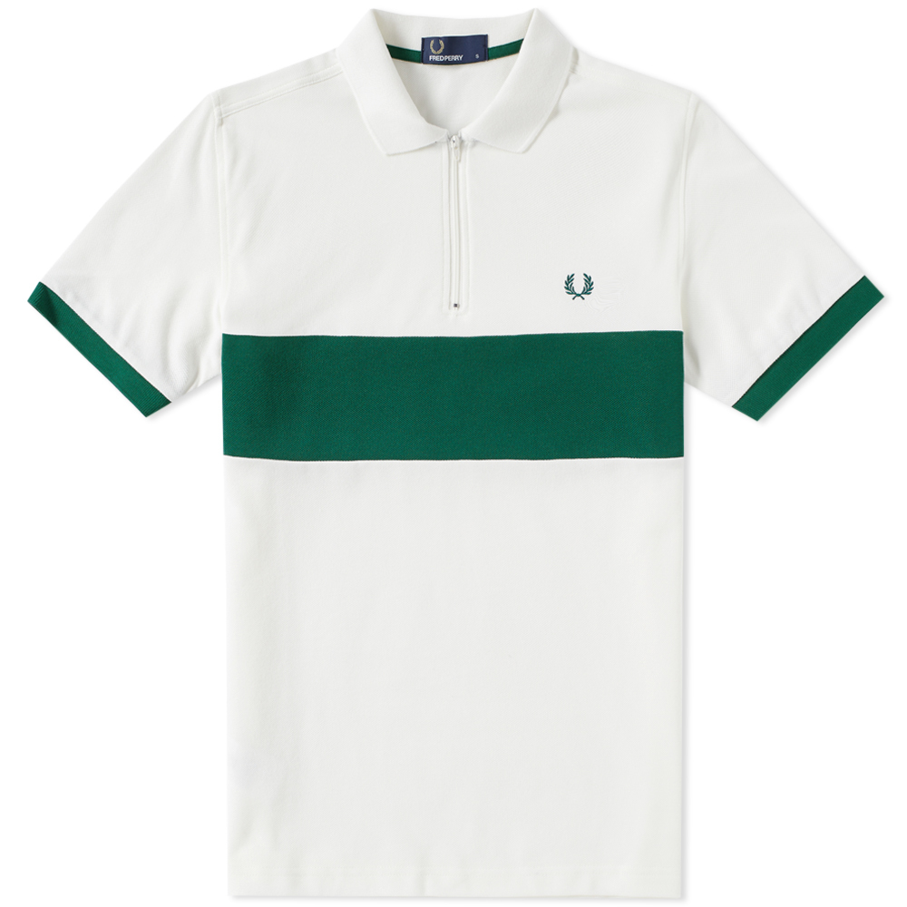 Photo: Fred Perry Zip Cycling Polo