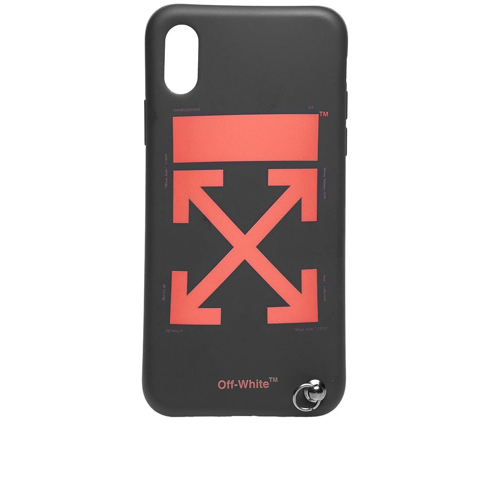 Photo: Off-White Arrow iPhone X Cover with Strap