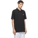 adidas Originals Black Trefoil Essentials Polo