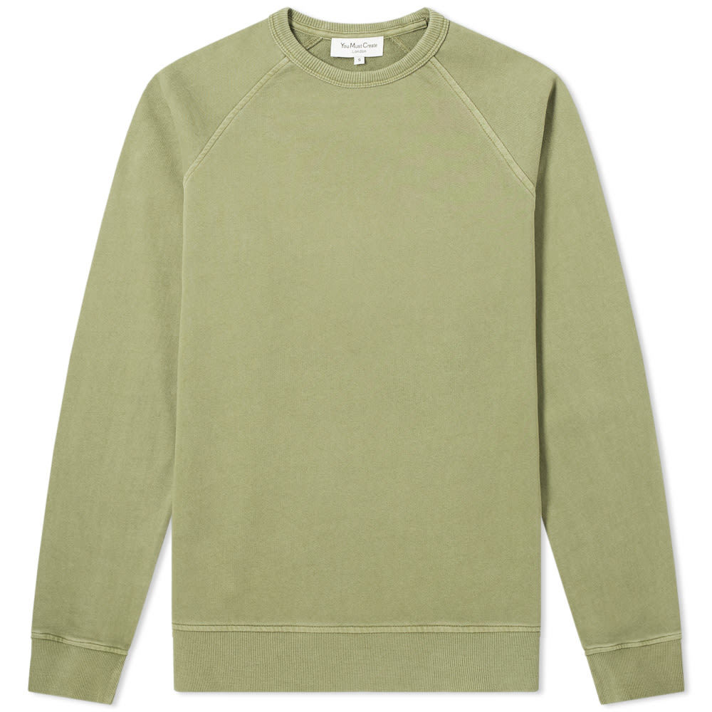 Photo: YMC Schrank Raglan Sweat