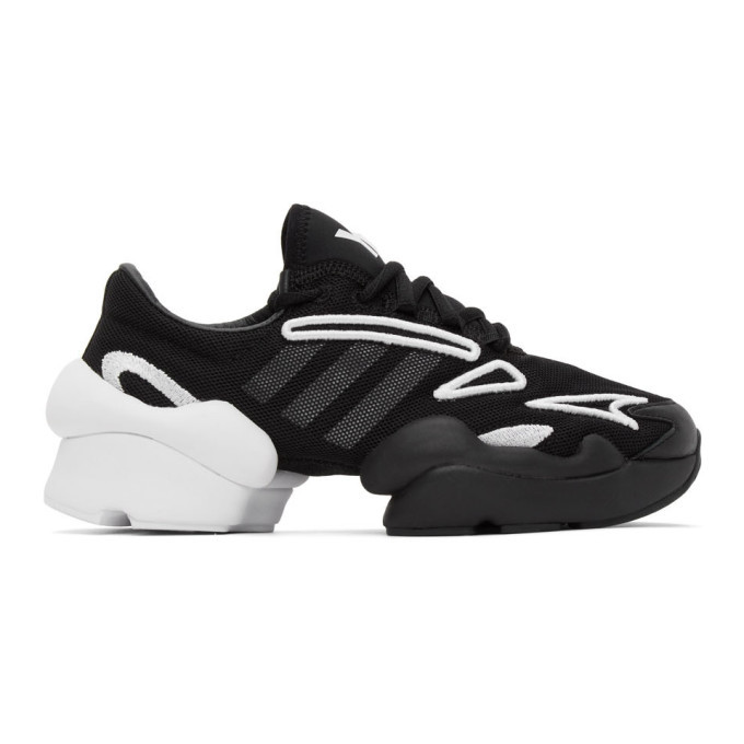 Photo: Y-3 Black and White Ren Sneakers