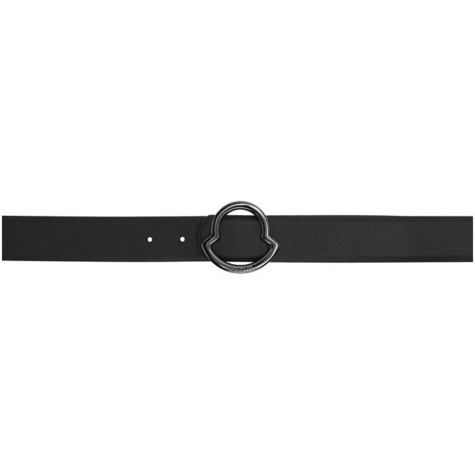 Photo: Moncler Black Logo Belt
