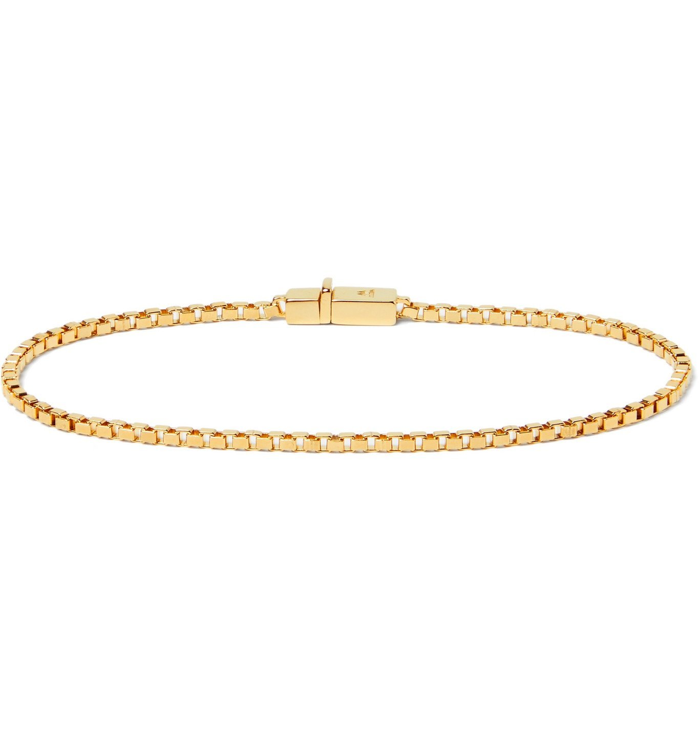 Photo: Tom Wood - Gold-Plated Sterling Silver Chain Bracelet - Gold